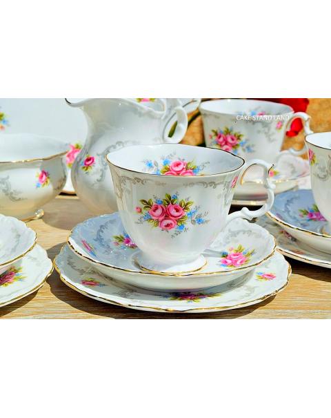(SOLD) ROYAL ALBERT TRANQUILITY TEA SET